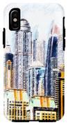 City Abstract IPhone X Tough Case