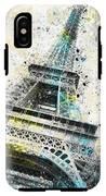 City-art Paris Eiffel Tower Iv IPhone X Tough Case