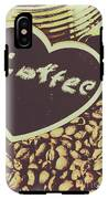 Coffee Heart IPhone X Tough Case
