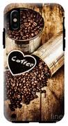 Coffee Shop Love IPhone X Tough Case
