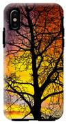 Colorful Silhouette IPhone X Tough Case