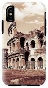 Colosseum Toned Sepia IPhone X Tough Case