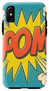 Comic Boom On Blue IPhone X Tough Case