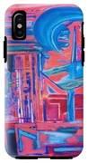 Composicion Azul IPhone X Tough Case