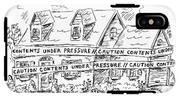 Contents Under Pressure IPhone X Tough Case
