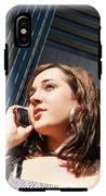 Corporate Call IPhone X Tough Case