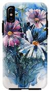 Cosmos Flowers IPhone X Tough Case