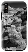 Cottonwood Creek Strange Rocks 6 Bw IPhone X Tough Case