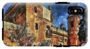 Courtyard, Mellieha, Malta IPhone X Tough Case