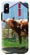 Cow Sheep And Bicycle IPhone X Tough Case