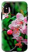 Crab Apple Blossom IPhone X Tough Case