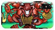 Crawfish Band IPhone X Tough Case