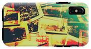 Creative Retro Film Photography Background IPhone X Tough Case