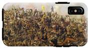 Custer's Last Stand From The Battle Of Little Bighorn IPhone X Tough Case