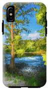 Cypress Tree By The River IPhone X Tough Case