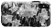Daffodil Glow Monochrome By Kaye Menner IPhone X Tough Case
