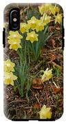 Daffodils With A Purple Flower IPhone X Tough Case