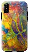 Darling Dragonfly IPhone X Tough Case
