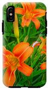 Daylily Greeting IPhone X Tough Case