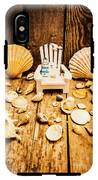 Deckchairs And Seashells IPhone X Tough Case