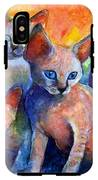 Devon Rex Kitten Cats IPhone X Tough Case