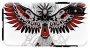 Divine Crow Woman IPhone X Tough Case