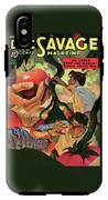 Doc Savage He Could Stop The World IPhone X Tough Case