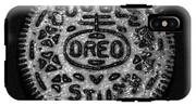 Doulble Stuff Oreo In Black And White IPhone X Tough Case
