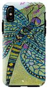 Dragonfly And Cherry Blossoms IPhone X Tough Case