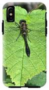 Dragonfly Resting IPhone X Tough Case