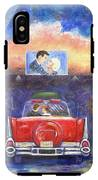 Drive-in Movie Theater IPhone X Tough Case