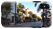 Duval Street In Key West IPhone X Tough Case