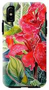 Early Morning Cannas  IPhone X Tough Case