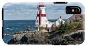 East Quoddy Lighthouse IPhone X Tough Case