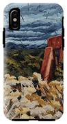 Echoes Of Tularosa, Museum Hill, Santa Fe, Nm IPhone X Tough Case