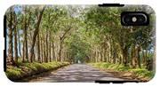 Eucalyptus Tree Tunnel - Kauai Hawaii IPhone X Tough Case