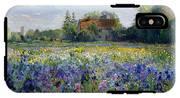 Evening At The Iris Field IPhone X Tough Case