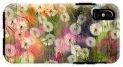 Fairy Dandelions Fields IPhone X Tough Case