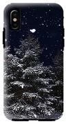 Falling Snow IPhone X Tough Case