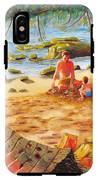 Family Day At Jobos Beach IPhone X Tough Case