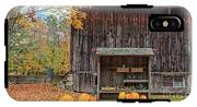 Farm Stand Etna New Hampshire IPhone X Tough Case
