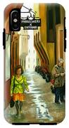 Fashion Alley In Bologna IPhone X Tough Case