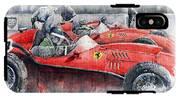 Ferrari Dino 246 F1 1958 Mike Hawthorn French Gp  IPhone X Tough Case