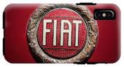 Fiat Emblem -1621c IPhone X Tough Case