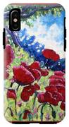 Field Of Poppies 02 IPhone X Tough Case
