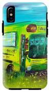 Final Bus Stop  IPhone X Tough Case