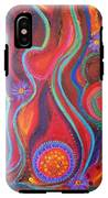 Fire Engine Red Explosion IPhone X Tough Case
