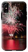 Fireworks In Greenwich  IPhone X Tough Case