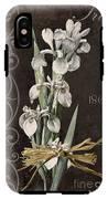 Fleurs De Paris II IPhone X Tough Case