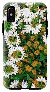 Floral Texture In The Summer IPhone X Tough Case